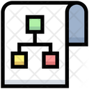 Flow Structure Network Icon