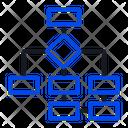 Flow Chart Diagram Icon