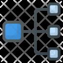 Flow Presentation Analytics Icon