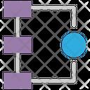 Flow Chart Flow Structure Structure Icon