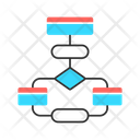 Flow Diagram Icon
