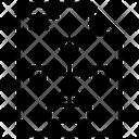 Paper Algorithm Flowchart Icon