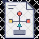 Flow Diagram File Algorithm Document Diagram File Icon