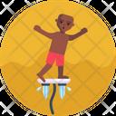 Water Sports Flowboard Icon