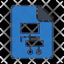 Flowchart Hierarchy Document Icon