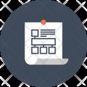 Flowchart Workflow Sticky Icon