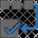 Seo Flowchart Project Management Icon