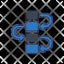 Flowchart Diagram Strategy Icon