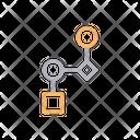 Hierarchy Chart Diagram Icon