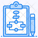 Flowchart Algorithm Data Flow Icon
