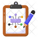 Network Chart Flowchart Algorithm Icon