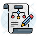 Flowchart Data Flow Algorithm Icon