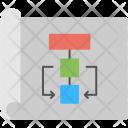 Sitemap Flowchart Site Icon