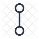 Flow Line Branch Icon