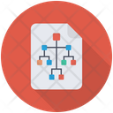 Flowchart Hierarchy File Icon