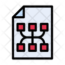 Flowchart File Graph File Graph Document Icon
