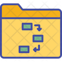 Document File Flowchart Icon