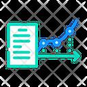 Flowchart Report Icon