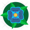 Blue Green Nature Icon