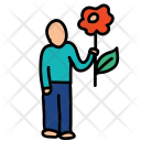 Flower Propose Icon