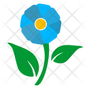 Flower Nature Label Icon