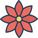 Blooming Decorative Floral Icon