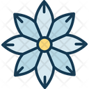 Blooming Flower Lotus Icon