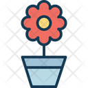Flower Flower Pot Nature Icon