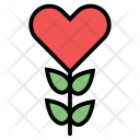 Flower Candy Heart Icon