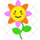 Flower Plant Green Icon