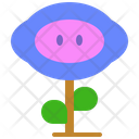Videogame Flower Mario Icon