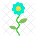 Blossom Leaf Rose Icon