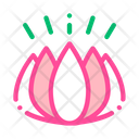 Cosmetic Ingredient Flower Icon