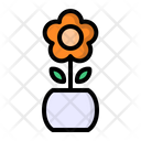 Flower Decoration Table Icon