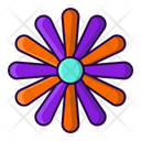Flower Blossom Floral Icon