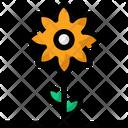 Spring Flower Plant Icon
