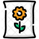 Spring Bee Flower Icon