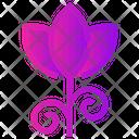 Spring Flower Tulip Icon