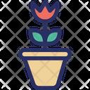 Flower Grass Herb Icon