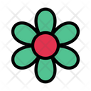Flower Spa Bloom Icon