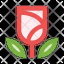 Flower Rose Plant Icon