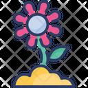 Flower Plant Garden Icon