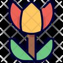 Flower Macro Photo Icon