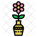 Flower Plant Pot Icon