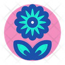 Flower Hotel Room Icon