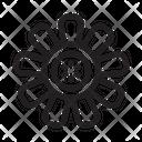 Flower Leaf Illustration Icon