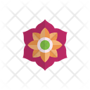 Flower Diwali Decoration Icon