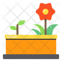 Flower Gardening Agriculture Icon