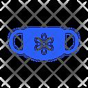 Flower Mask Virus Icon