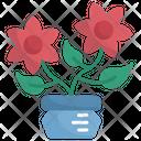 Flower Botanical Flower Pot Icon